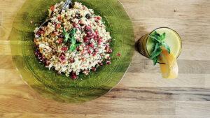 Marokkanischer Couscous mit Granatapfel