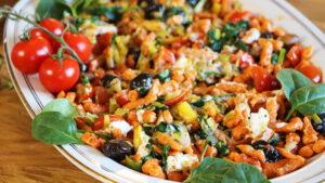 Mediterrane Tomaten-Spätzli