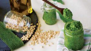 Bärlauch-Pesto mit Ingwer