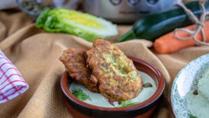 Vegetarische Gemüse-Burger