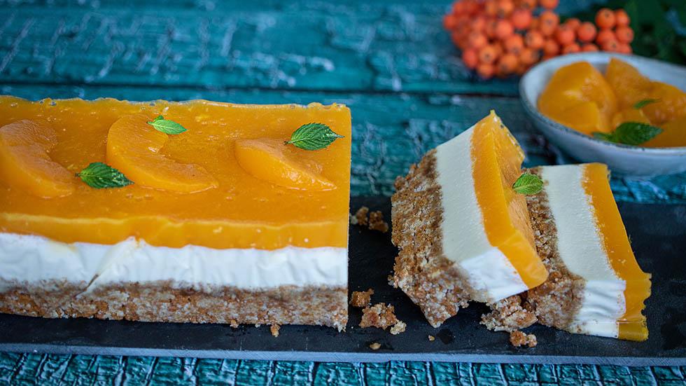 Pfirsich-Ricotta Dessert