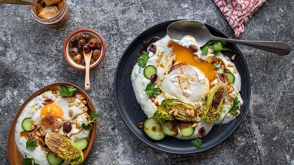 Cilbir - Türkische Frühstückseier